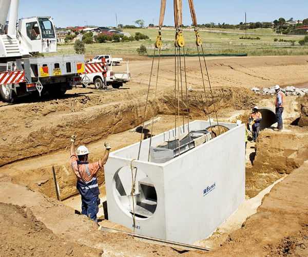 Ecosol Civil Construction Services for Stormwater
