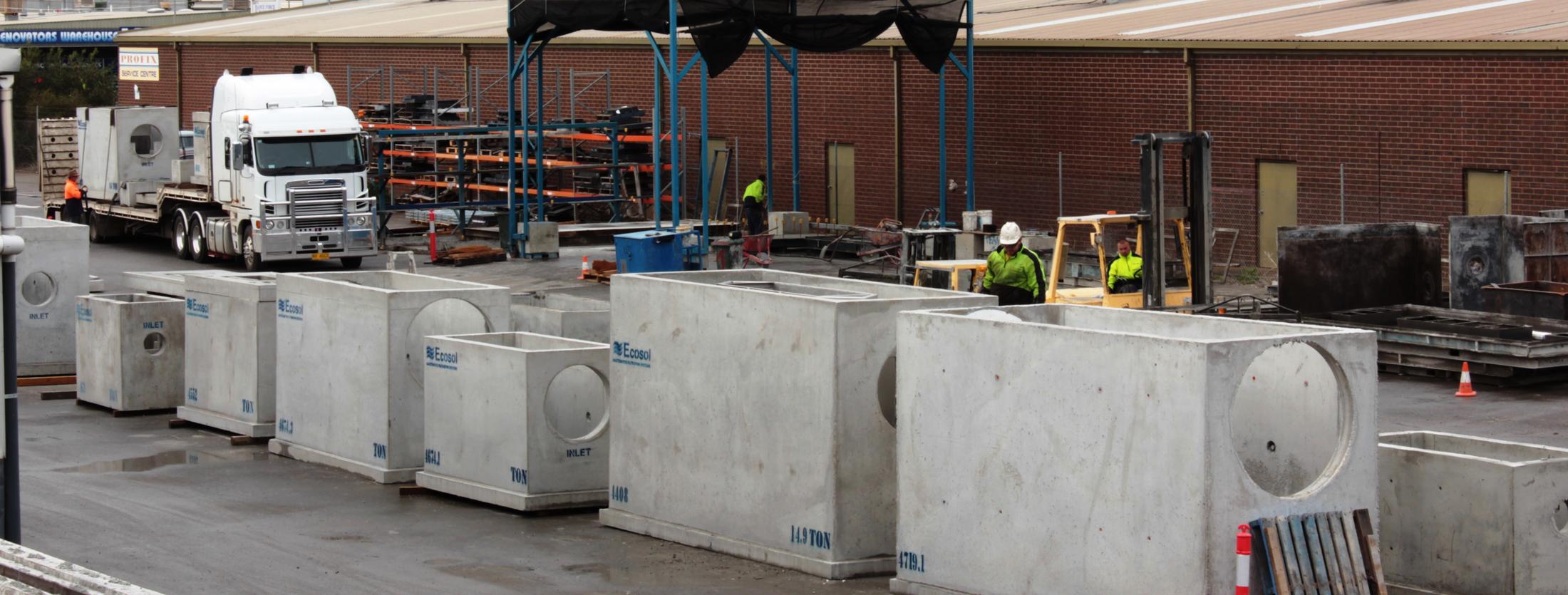 Pre Cast Concrete Slider